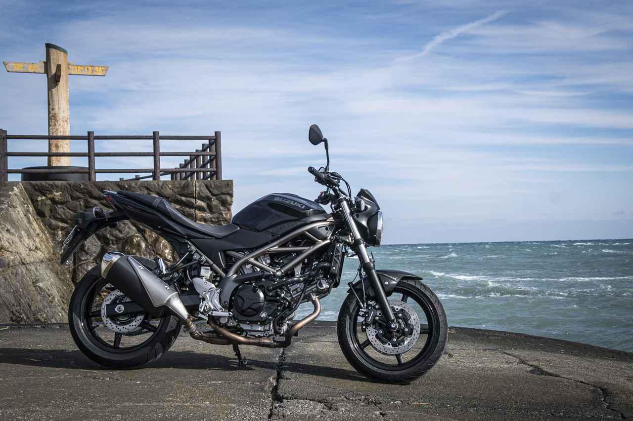 画像3: 大型バイクに乗り慣れた人も『SV650』は虜にする