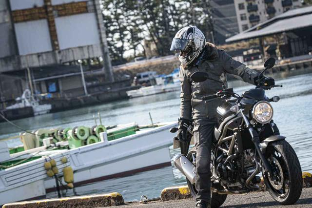 画像1: 大型バイクに乗り慣れた人も『SV650』は虜にする