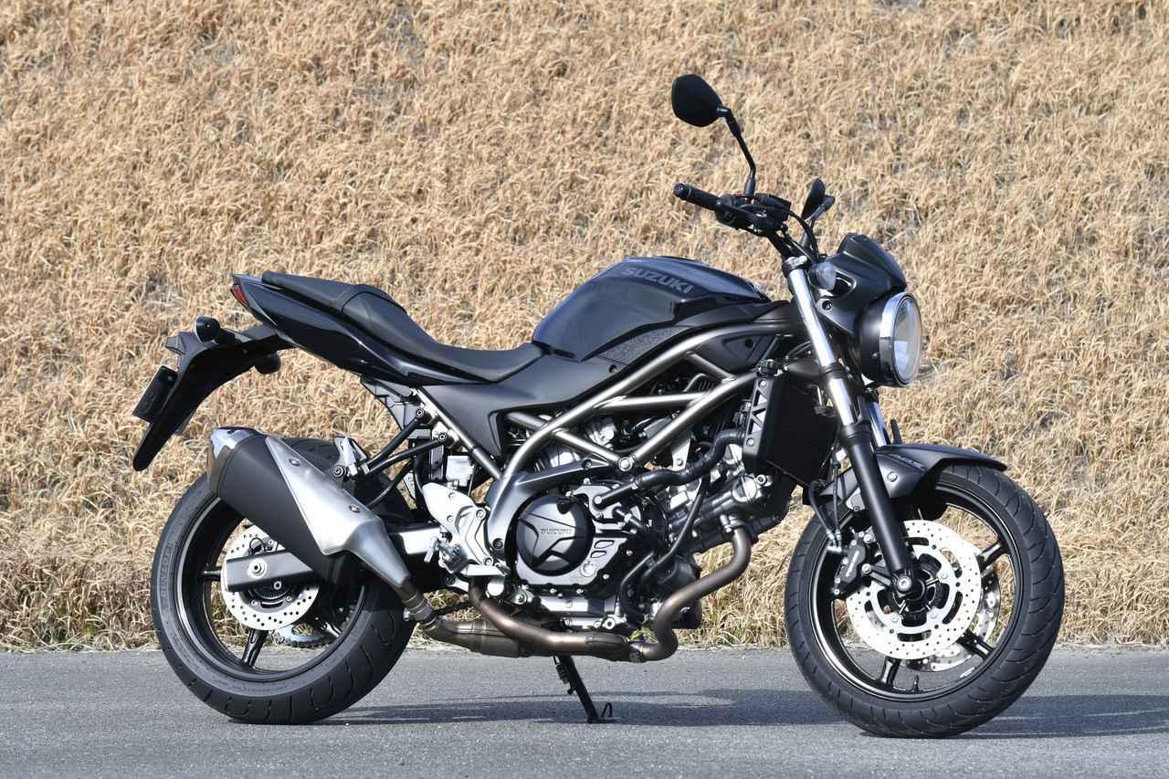 画像1: スズキの大型バイク『SV650』を解説します!