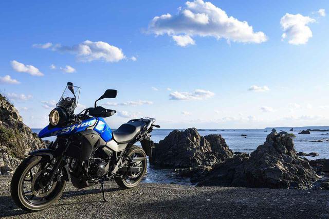 画像: 1日500km以上を余裕で走れる250ccバイクは『Vストローム250』の他に無いかもしれない。- スズキのバイク!