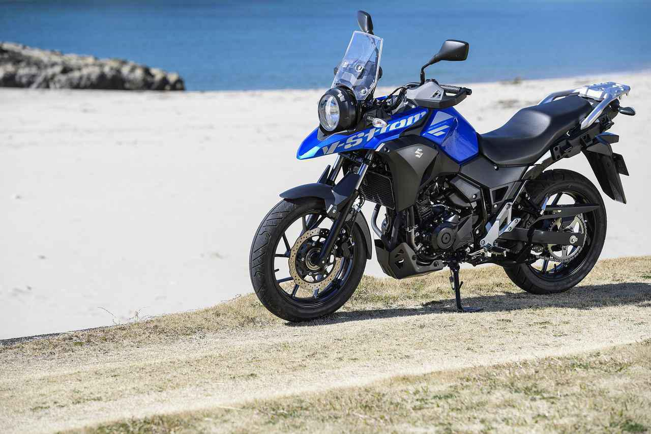 画像: 第8位/250ccバイクを超えた快適性『Vストローム250』