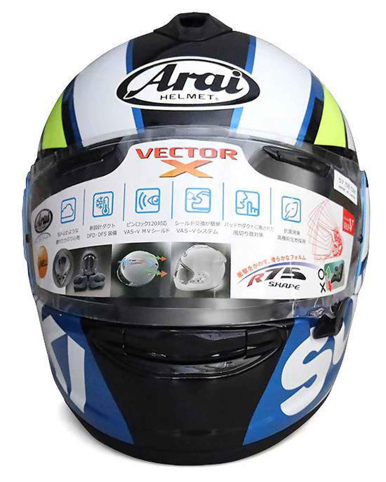 画像1: 【用品】100周年記念カラーの『GSX-R1000R/GSX-R125』に乗ってる人は特に注目! MotoGP『チーム・スズキ・エクスター』のライダーなりきりヘルメットです 【寝ても覚めてもスズキのバイク!/GPカラー ヘルメット 編】