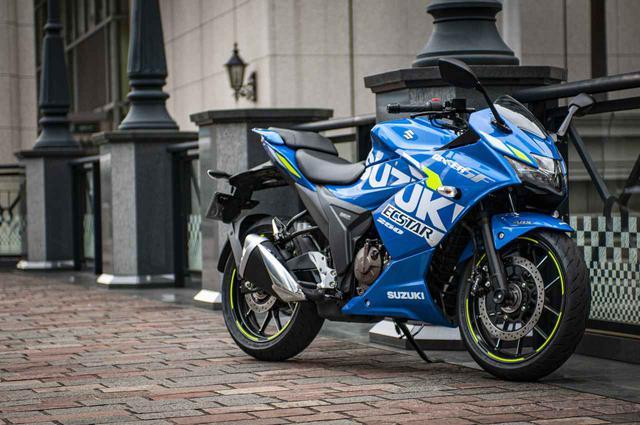 画像1: 250ccフルカウルスポーツで一番軽いバイクはジクサーSF250!