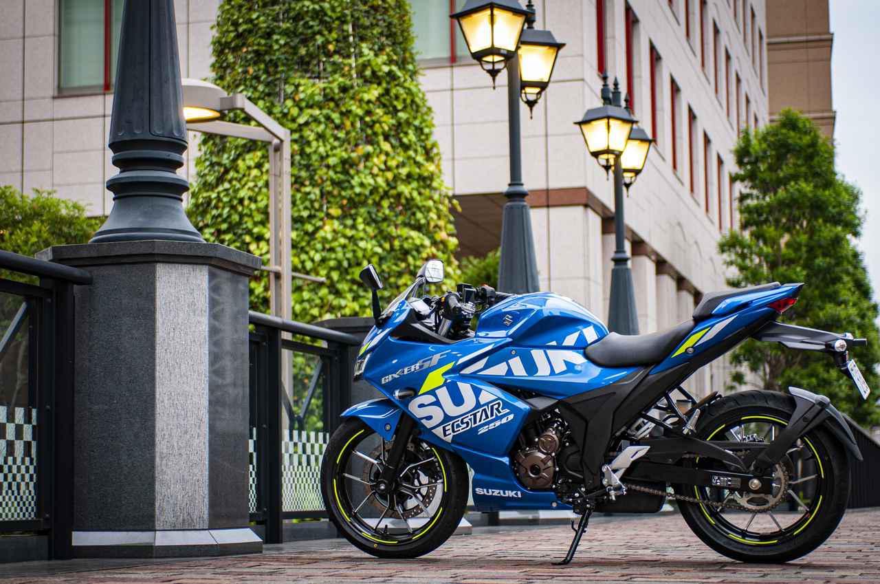 画像2: 250ccフルカウルスポーツで一番軽いバイクはジクサーSF250!
