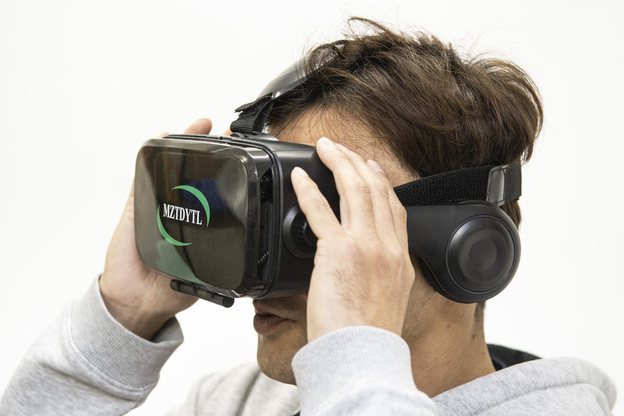 画像4: 『アプリ+VRゴーグル』で臨場感が更にアップ!