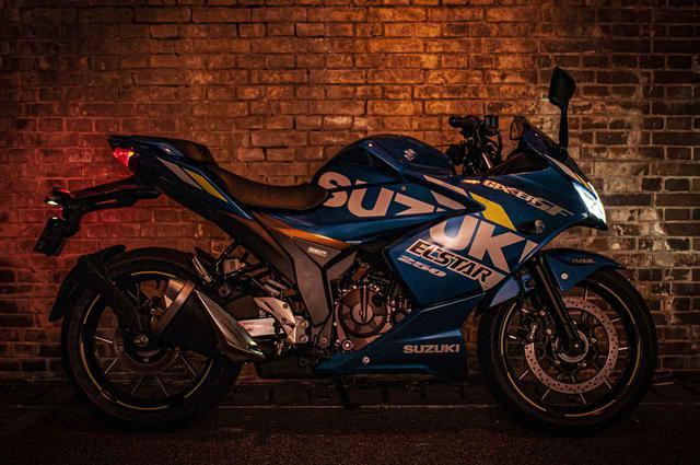 画像4: 250ccフルカウルスポーツで一番軽いバイクはジクサーSF250!