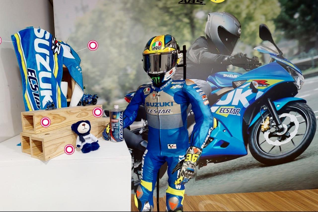 画像: 【隠しコマンド】ネタバレ注意! スズキ『WEBモーターサイクルショー 2021』でジョアン・ミルが!? 怪奇現象かと思いました…… - スズキのバイク!