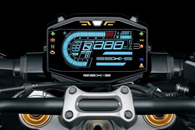 画像1: 新型『GSX-S1000』はSDMSで万能化する?