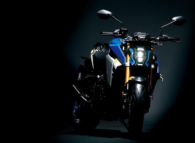 画像4: スズキ新型『GSX-S1000』が公開されました!