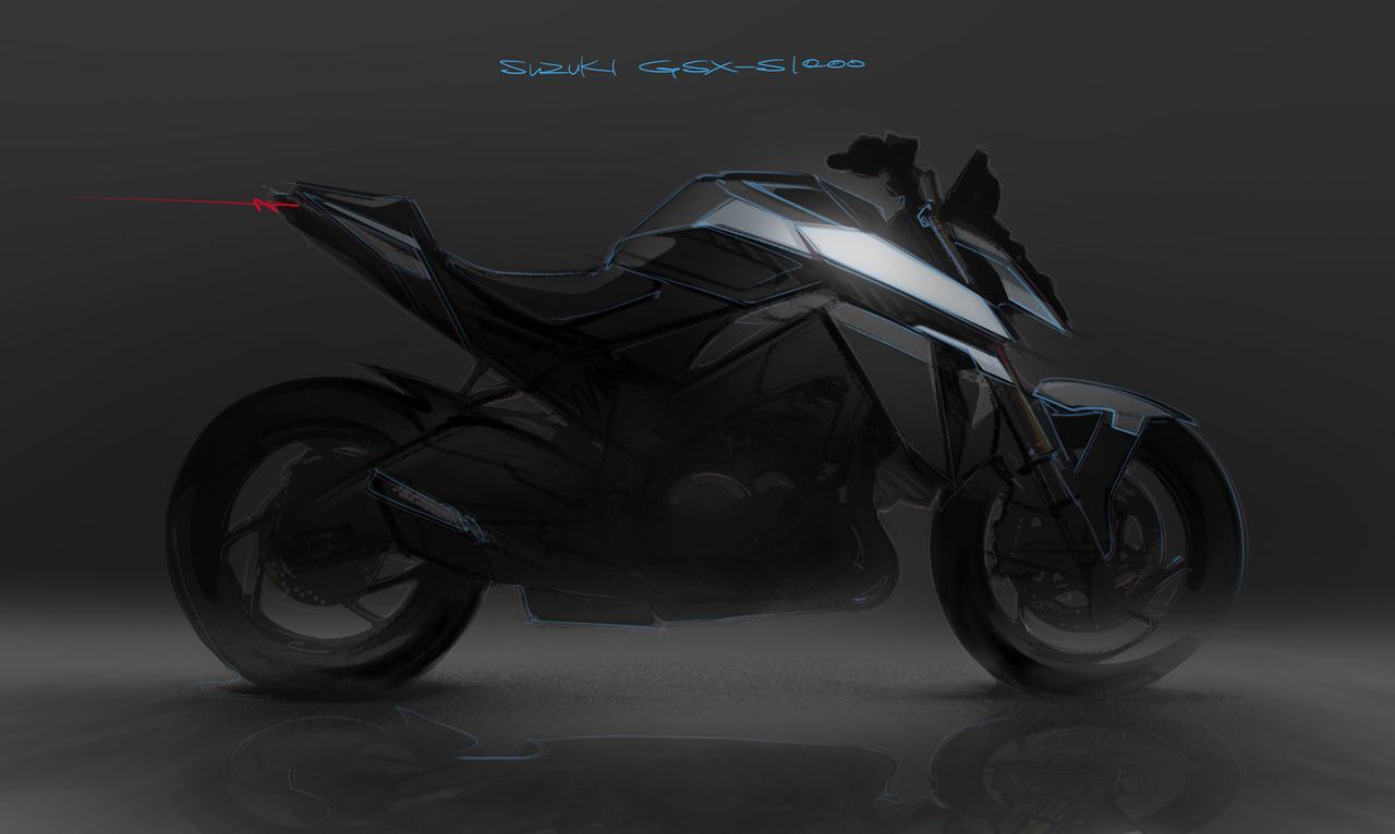画像1: スズキ新型『GSX-S1000』が公開されました!