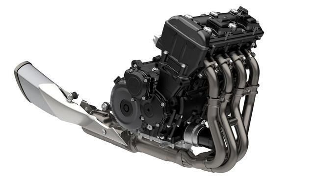 画像1: エンジンはGSX-R1000譲りのパワーユニットを継承