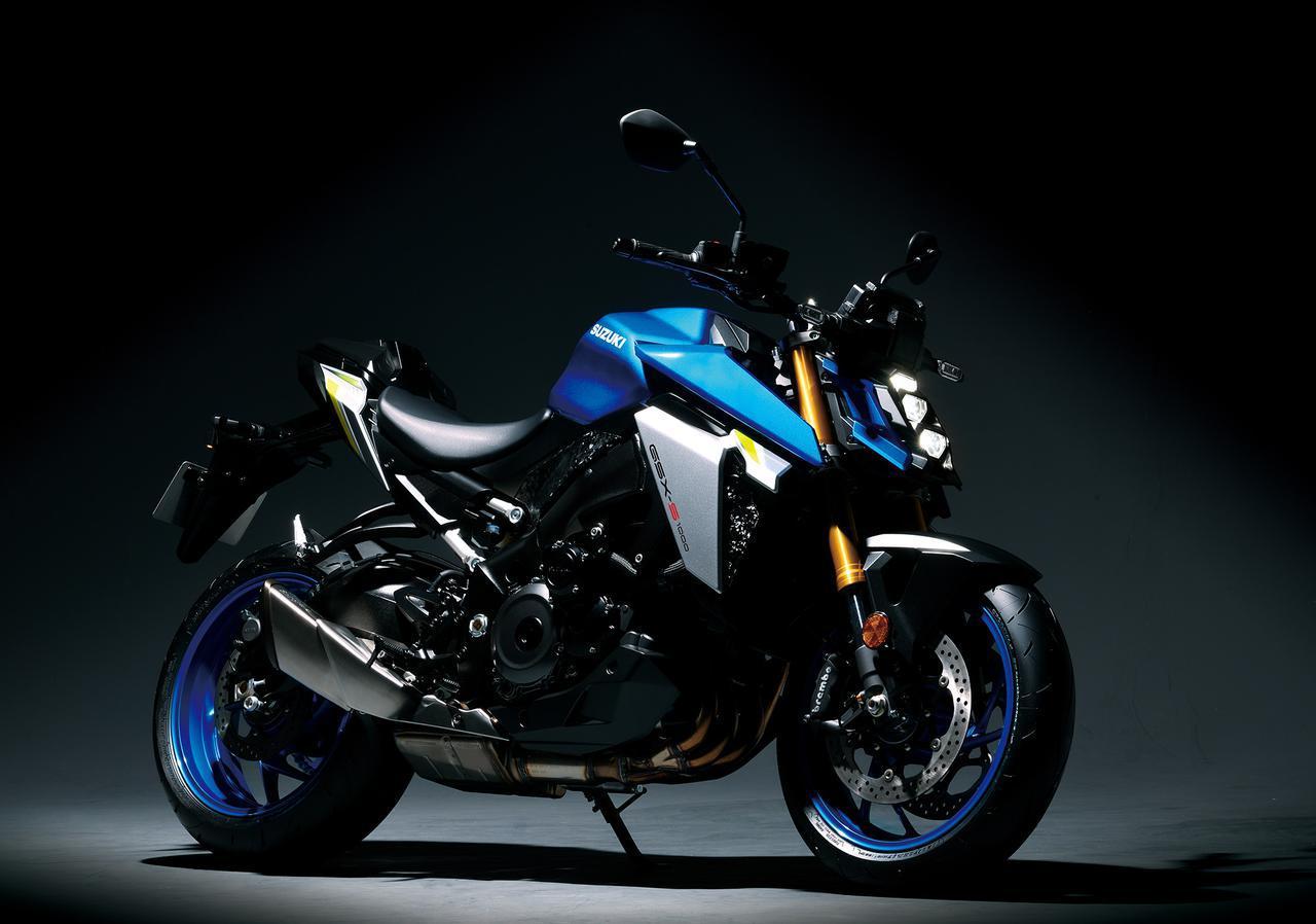 画像: スズキのバイクのデザインが変わった?