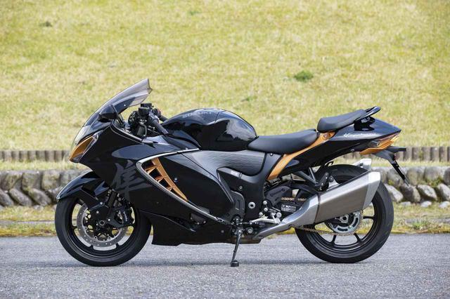 画像2: スズキの大型バイク新型『隼(2021)』を解説します!