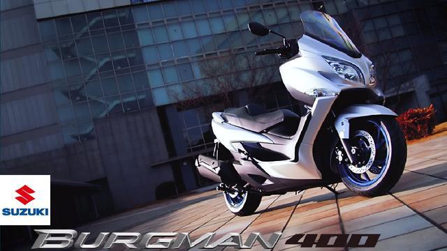 画像: BURGMAN 400 | Official promotional video | The Elegant Athlete | Suzuki www.youtube.com