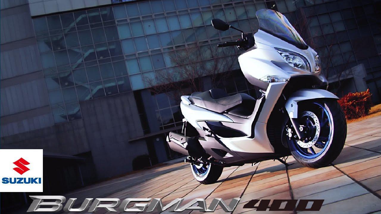 画像: BURGMAN 400   Official promotional video   The Elegant Athlete   Suzuki www.youtube.com