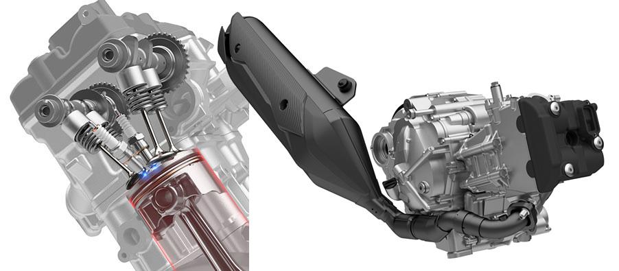画像2: 新型バーグマン400はツインプラグ&トラクションコントロールを新採用!?