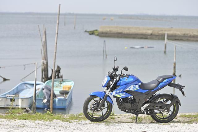 画像1: まさか150ccのバイクでロングツーリングが快適にこなせるなんて…