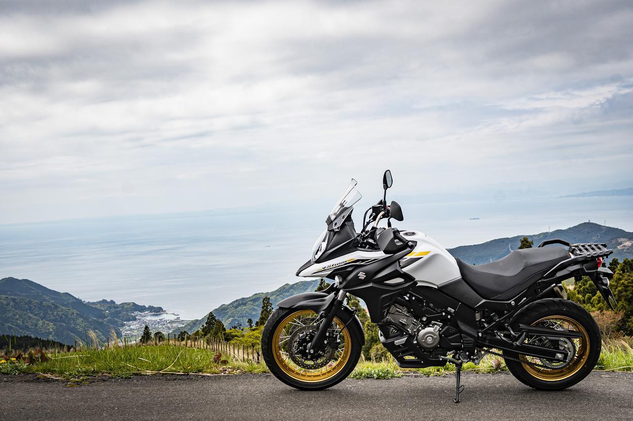 画像: スズキの大型バイクで『Vストローム650XT』がいちばん優しい