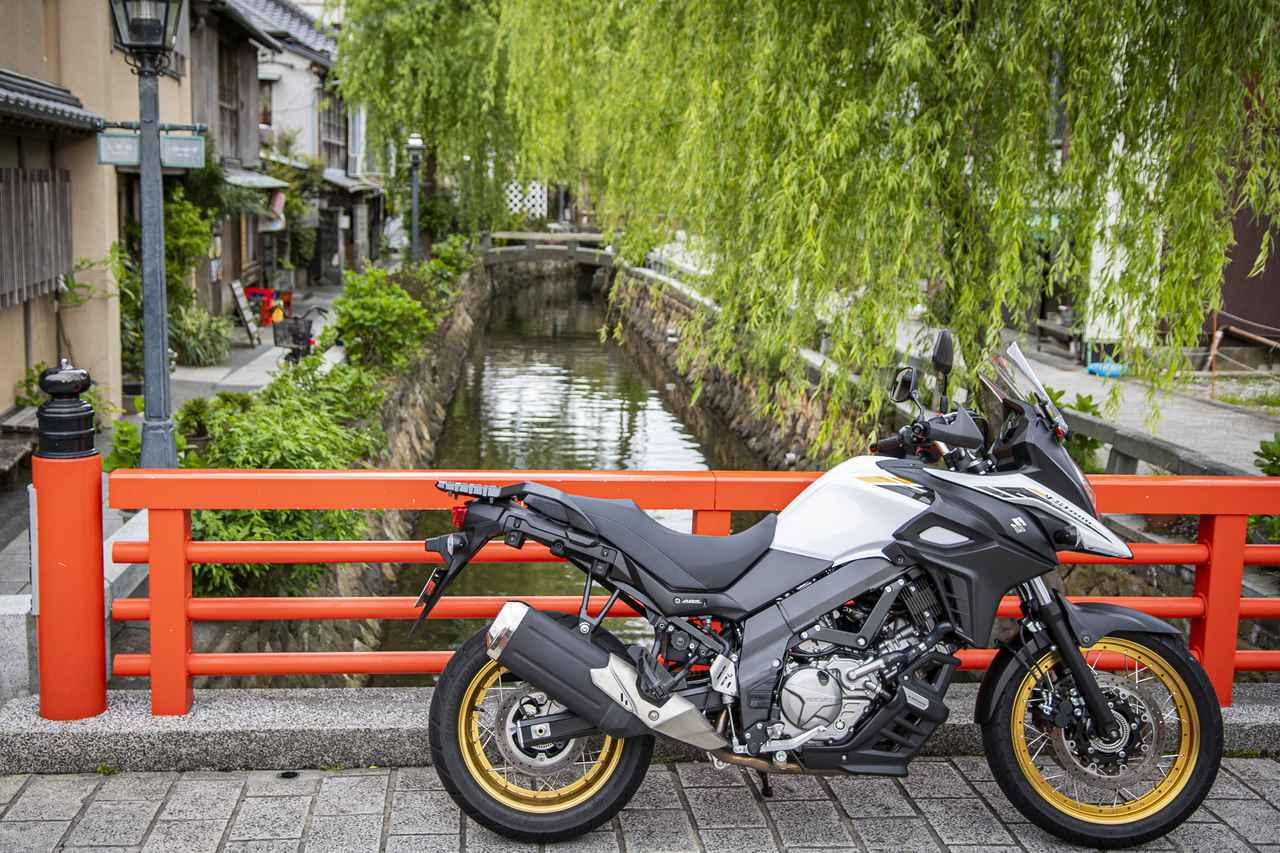 画像4: Vストローム650XTは奇跡のバランス感を持つ大型バイク