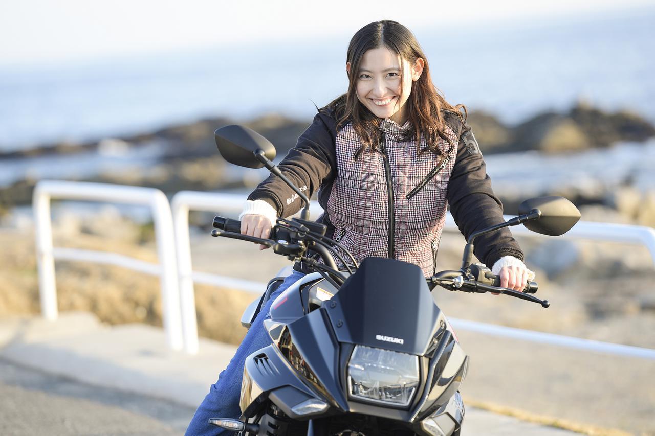 画像: 女子の本音に衝撃!? 大型バイクでタンデムするなら、ある意味『カタナ』は最もおすすめかもしれません…… - スズキのバイク!