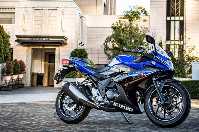 画像: 一切ブレない250ccスポーツバイク『GSX250R』