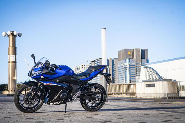 画像: GSX250Rは街乗りバイク?