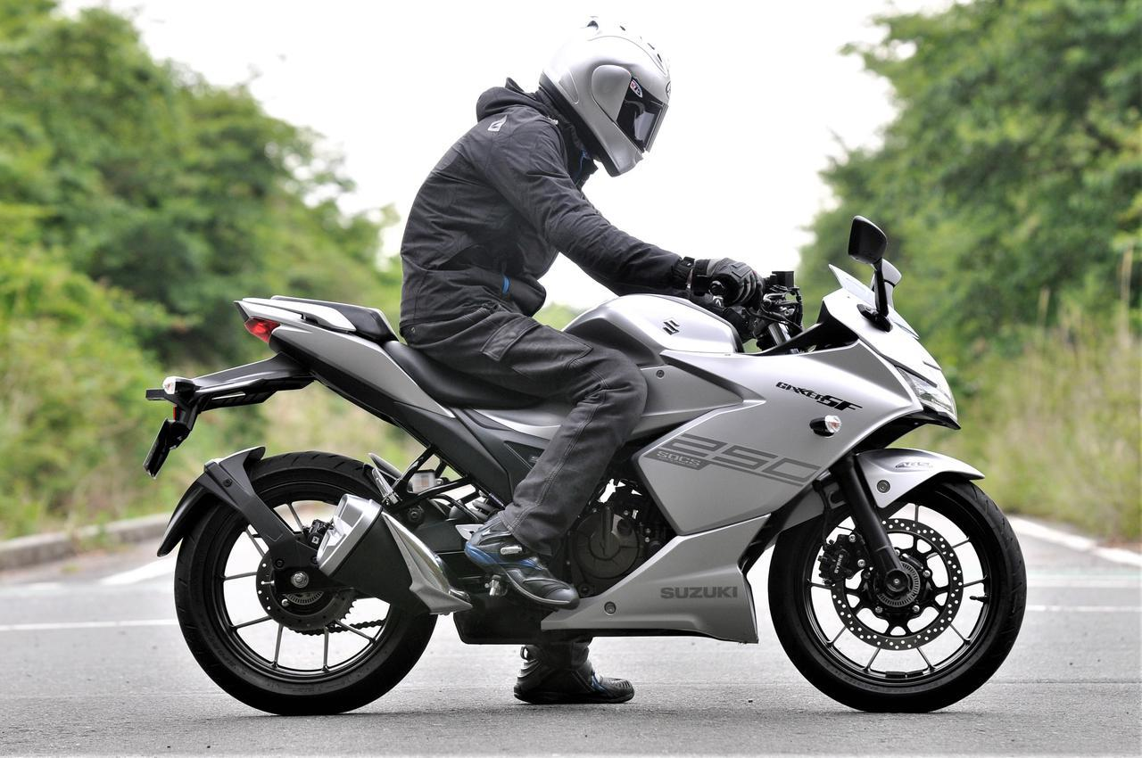 画像2: スズキの250ccバイク『GSX250R』はフルカウルなのにネイキッドみたいに運転しやすい!【SUZUKI GSX250R 試乗インプレ/レビュー 中編】