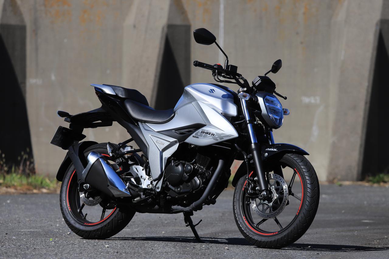 画像: スズキ『ジクサー(150)』は荷物を満載にすると走りの特性が大きく変わる! - スズキのバイク!