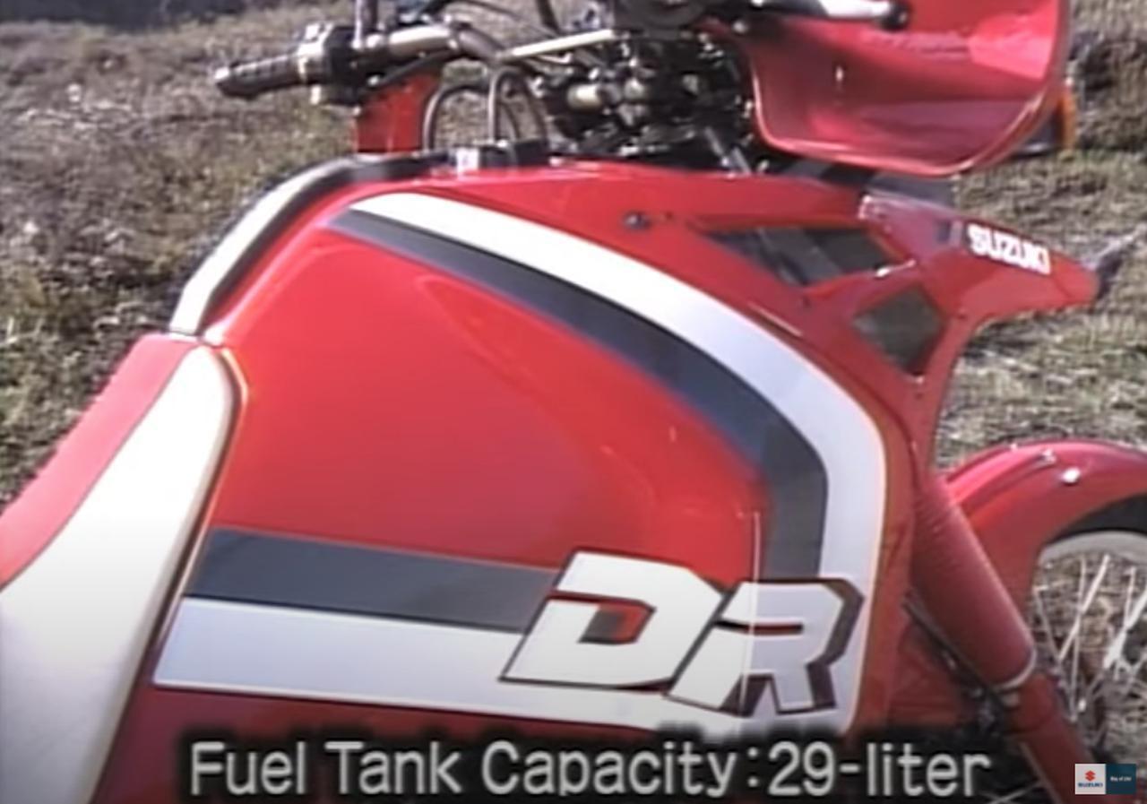 画像2: 「DR-BIG」の愛称で親しまれた油冷単気筒のビッグオフローダー