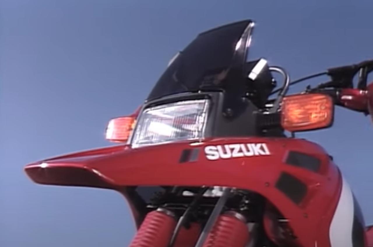 画像1: 「DR-BIG」の愛称で親しまれた油冷単気筒のビッグオフローダー