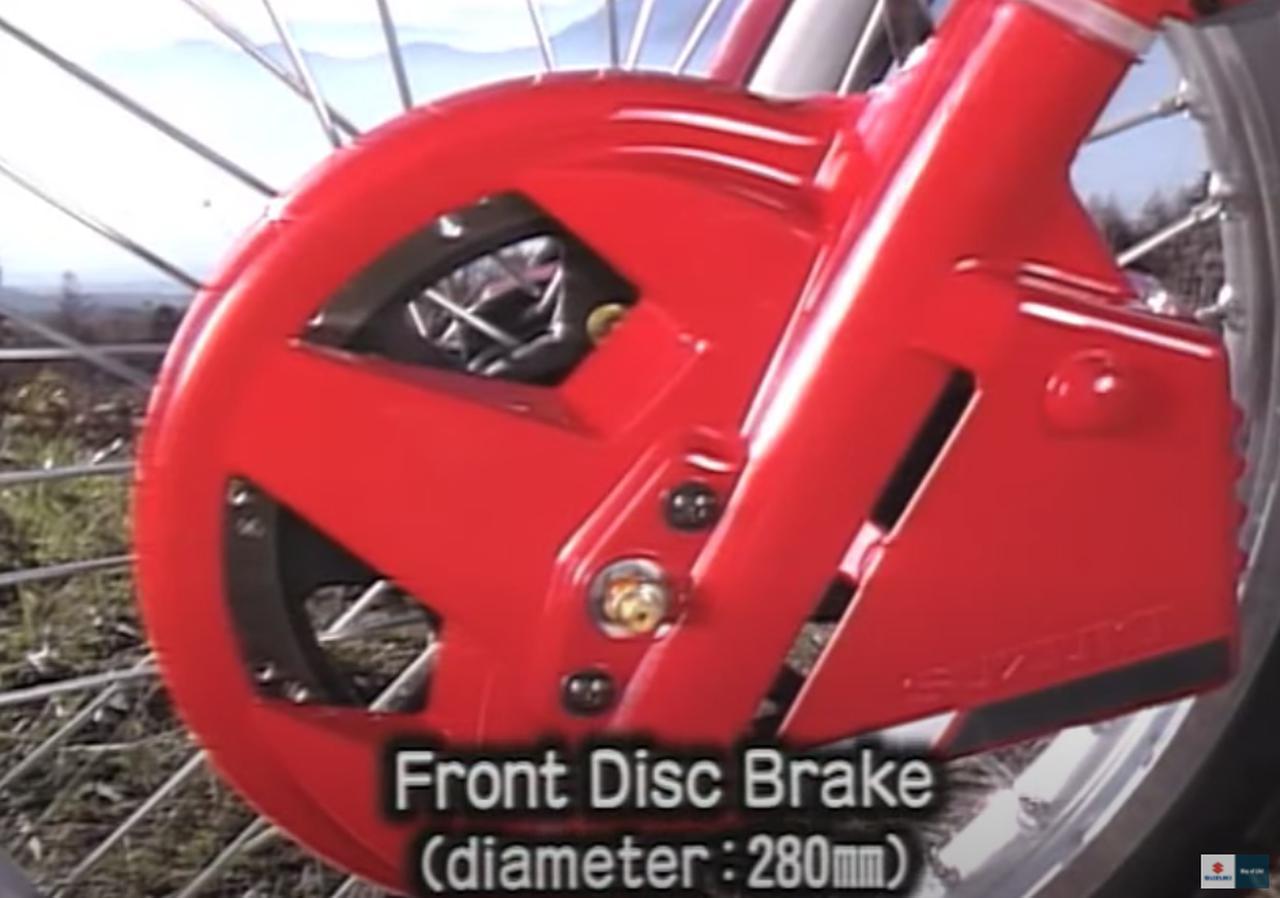画像5: 「DR-BIG」の愛称で親しまれた油冷単気筒のビッグオフローダー