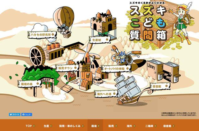 画像: スズキこども質問箱 www.suzuki.co.jp