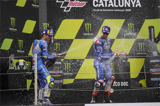 画像: 【2020カタルニアGP】すごいぞW表彰台! もう誰もが認めるしかない。MotoGPでスズキは速い。本当に強い! - スズキのバイク!