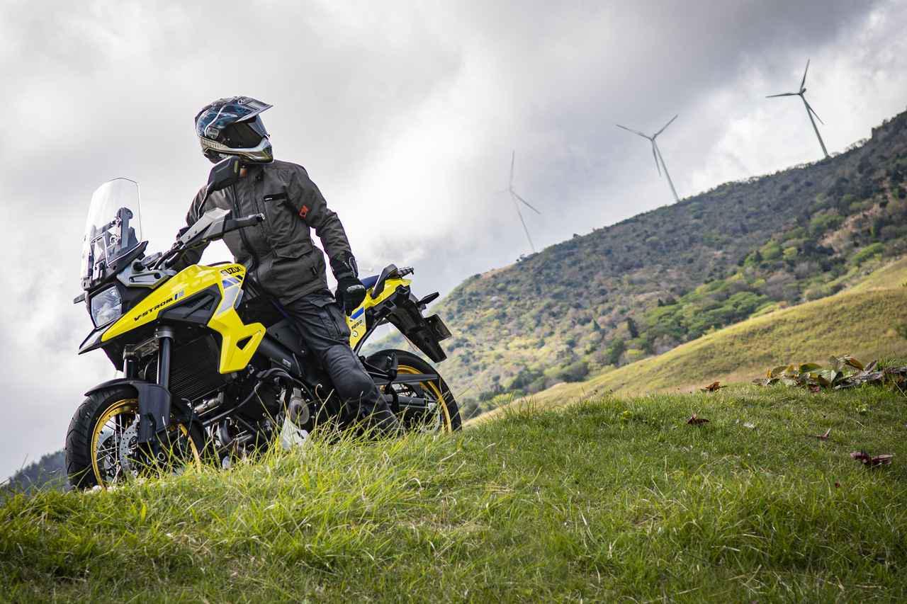 画像: Vストローム1050は『男の大型バイク』って感じがする