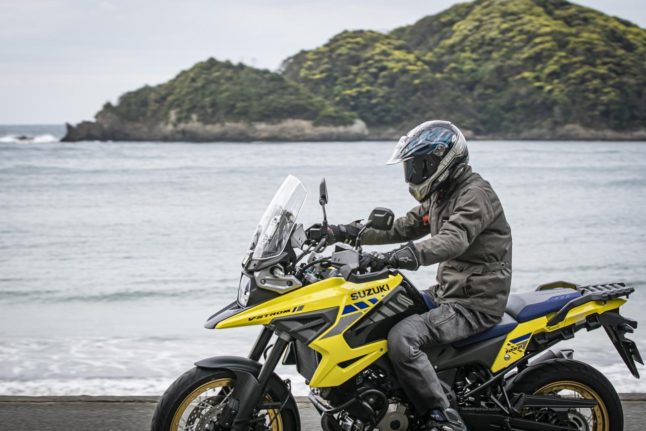 画像3: コーナーが速いアドベンチャーバイク