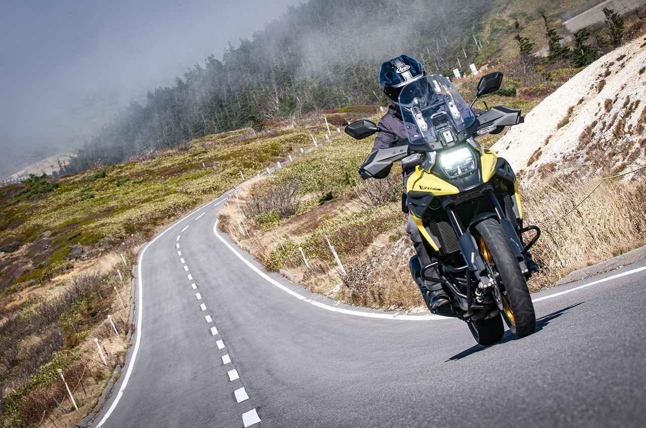 画像: 性能以上に大事かも? スズキ『Vストローム1050XT』のエンジンの味わいについて! - スズキのバイク!