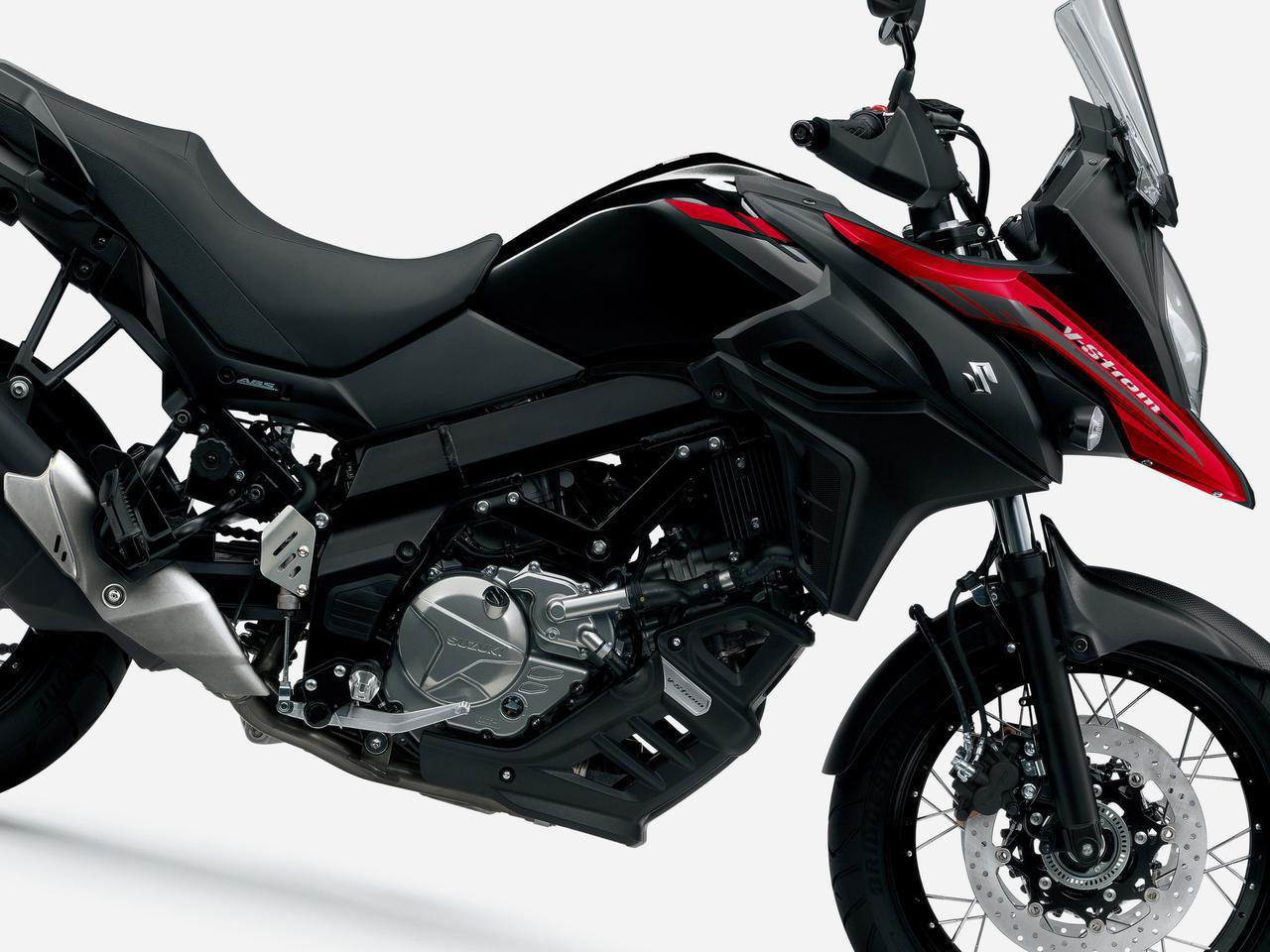 画像: 【2021モデル】クラスを超えすぎの650ccアドベンチャーバイク『Vストローム650/XT』がカラーチェンジ! - スズキのバイク!