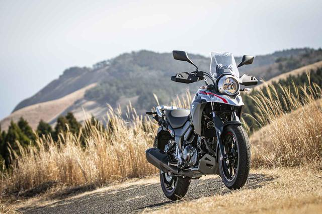 """画像: ツーリングバイクとして""""大事なもの""""が『Vストローム250』には備わってる! - スズキのバイク!"""