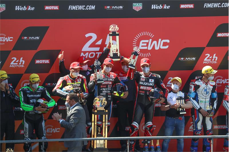 画像: 世界耐久EWCの最終戦『鈴鹿8耐』でスズキがチャンピオンに輝く、予定!