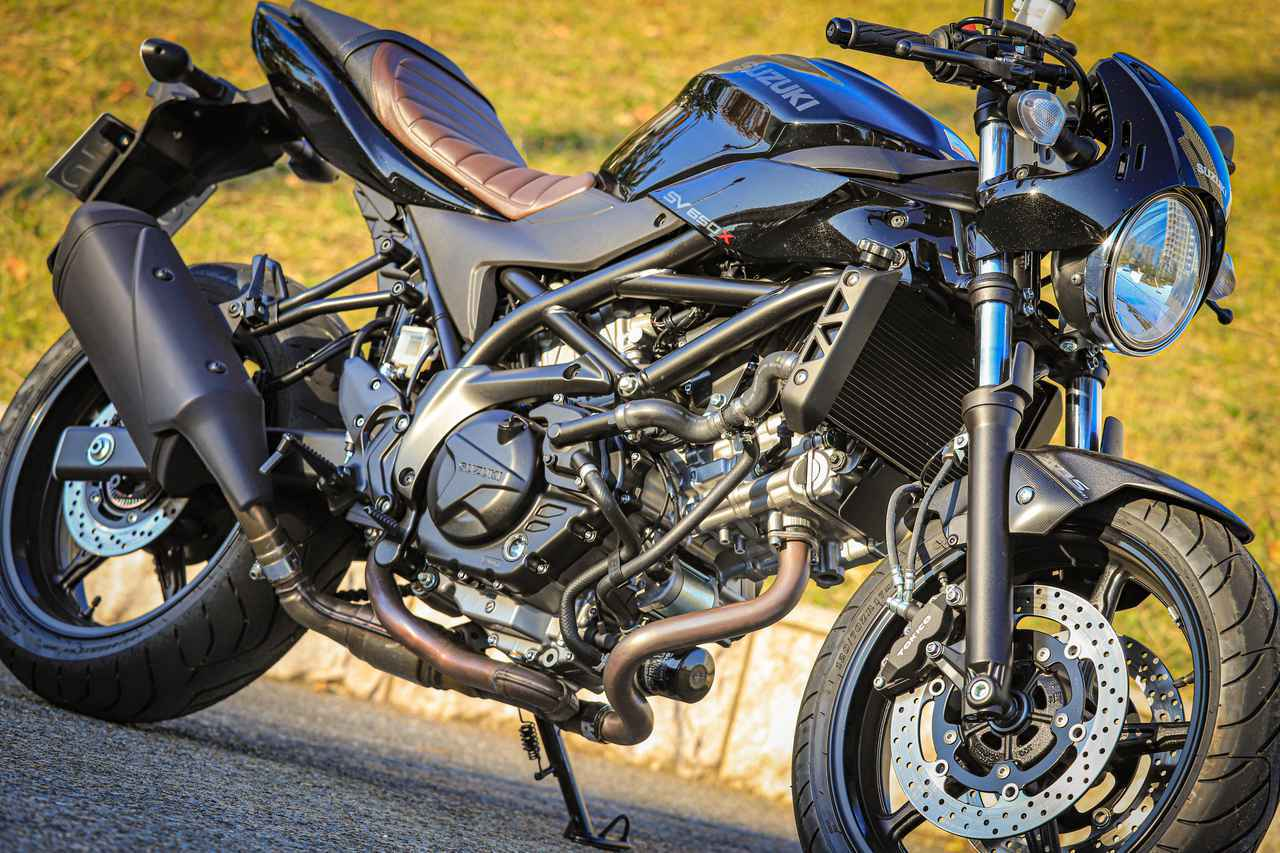 画像: 大型バイクでも650ccなら優し……くない? スズキ『SV650X』はけっこうハードなので要注意!? - スズキのバイク!