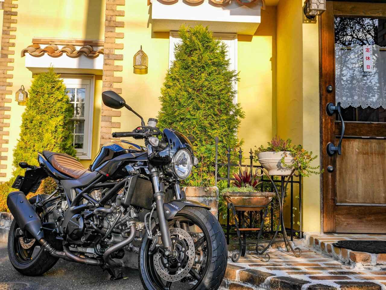 画像1: 快適とは言わないけどキツくもない。スズキ『SV650X』が疲れにくい2つのアドバンテージ! - スズキのバイク!