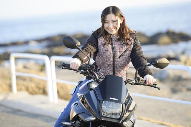 画像: 女子の本音に衝撃!? 大型バイクでタンデムするなら、ある意味スズキ『カタナ』が最もおすすめかもしれません…… - スズキのバイク!
