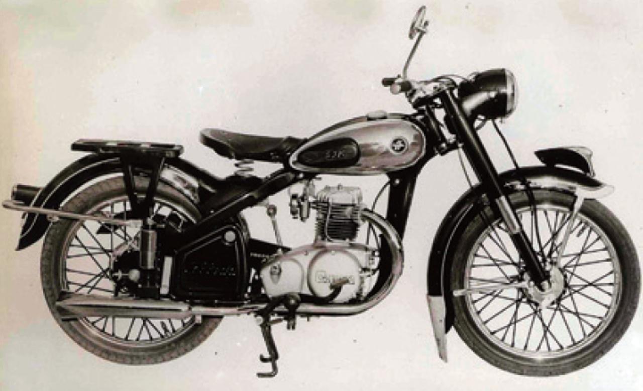 画像1: スズキ初の125cc コレダCOX 1955年 3月