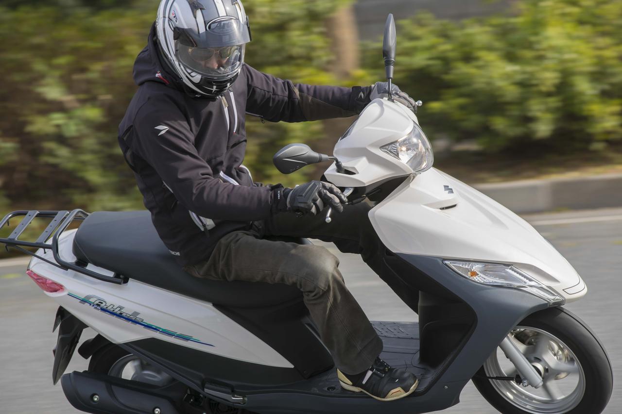 画像3: 今の『アドレス125』はパワー系の125ccバイクじゃない