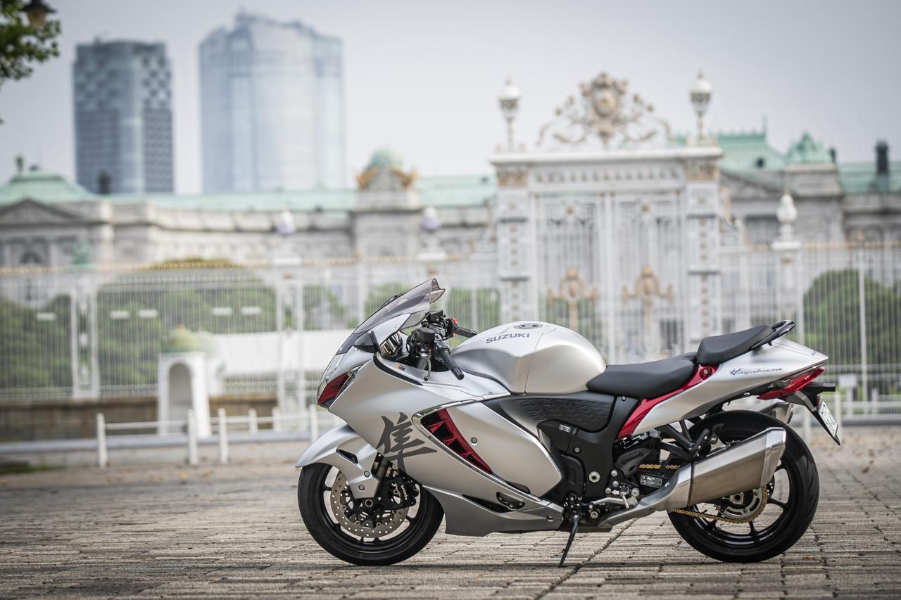 画像: 街乗りも楽しめるのが本当のツーリングバイク