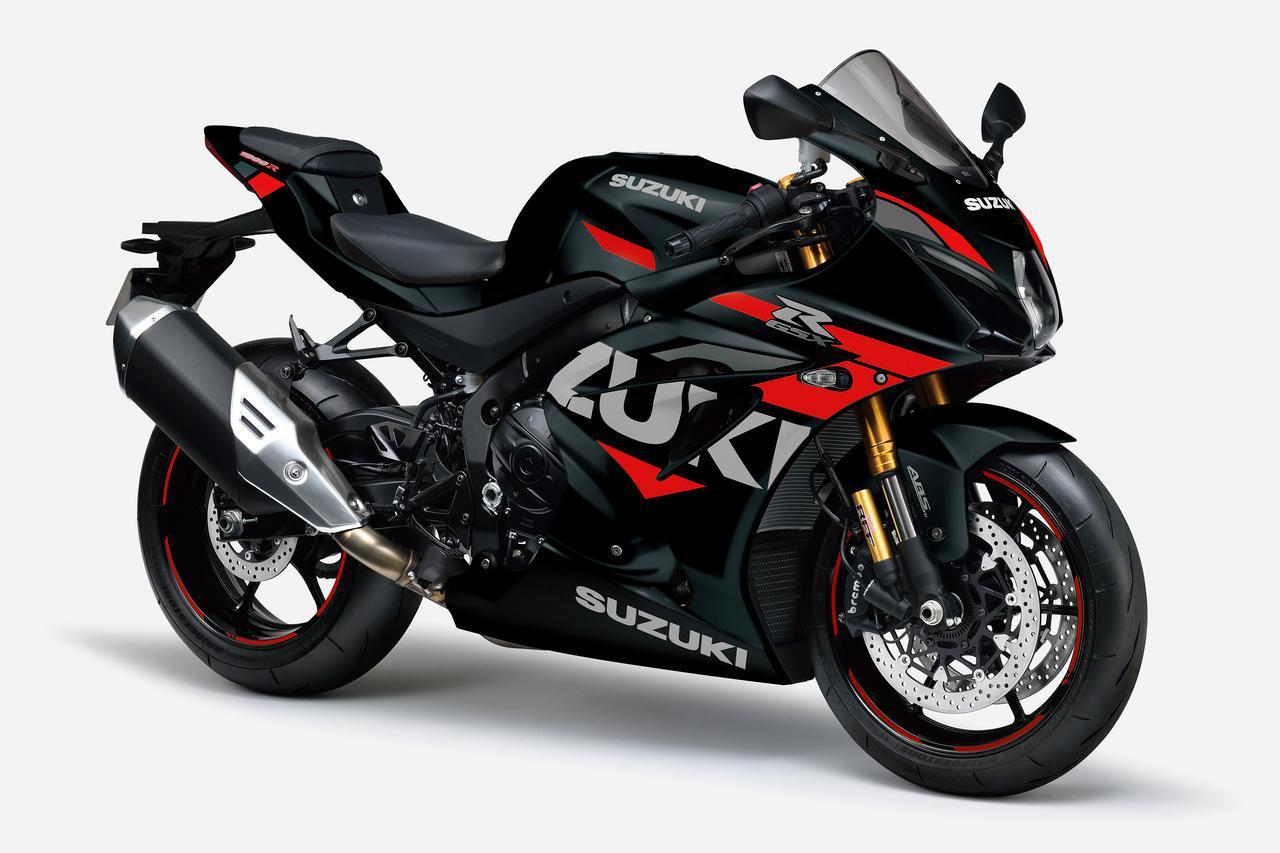 画像1: 最速のスズキ『GSX-R1000R』がカラーチェンジ! 2021年モデルは何だかお洒落なスーパースポーツに?【スズキのバイク! の新車ニュース/GSX-R1000R(2021)】
