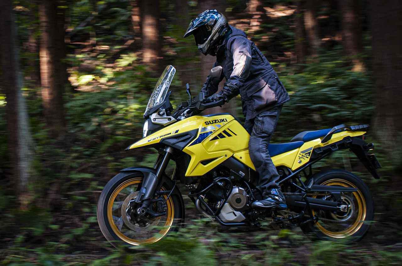 画像1: 第3位:がんばれば手が届く大型アドベンチャーバイク/スズキ『Vストローム1050XT』