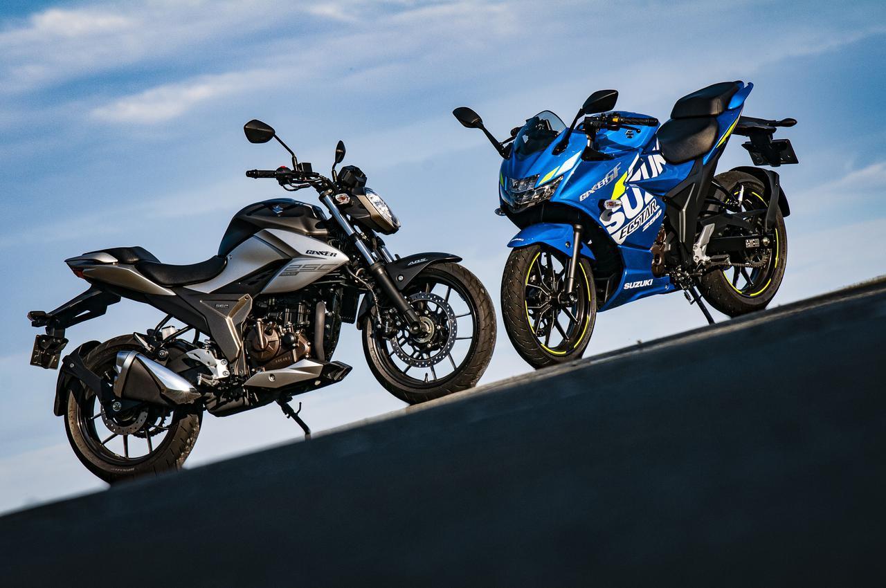 画像: スポーツバイクだけど快適性は? ゆっくり走ってもスズキ『ジクサー250』と『ジクサーSF250』って楽しめる? - スズキのバイク!
