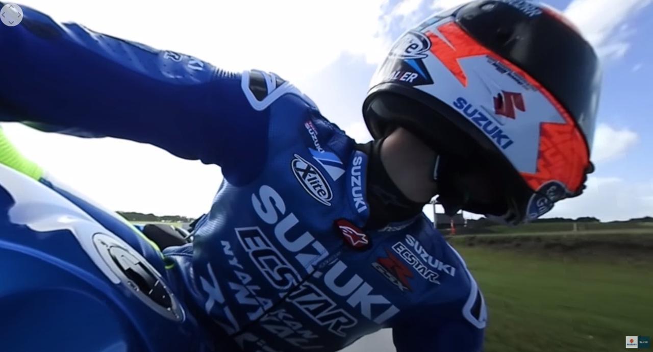 画像2: MotoGPライダー『アレックス・リンス』の走りを疑似体験!? あまりにもレベルが違って笑うしかない……【寝ても覚めてもスズキのバイク!/モトGP チーム・スズキ・エクスター 編】