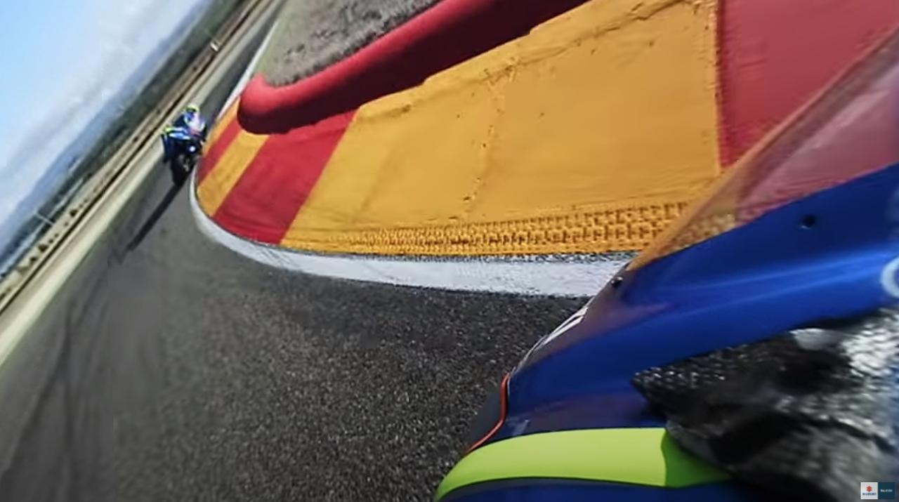画像3: MotoGPライダー『アレックス・リンス』の走りを疑似体験!? あまりにもレベルが違って笑うしかない……【寝ても覚めてもスズキのバイク!/モトGP チーム・スズキ・エクスター 編】